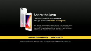 Sprint TV Spot, 'Share the Love: Get Two Amazing iPhones' - Thumbnail 9
