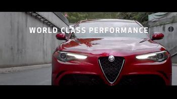 Alfa Romeo TV Spot, 'Experience Affordable Luxury'