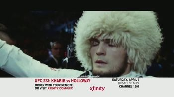 UFC 223 TV Spot, 'XFINITY: Khabib vs. Holloway' - Thumbnail 1