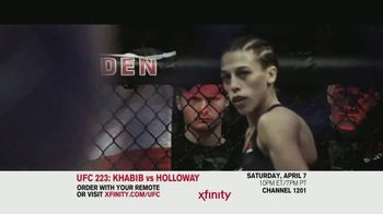 UFC 223 TV Spot, 'XFINITY: Khabib vs. Holloway' - Thumbnail 3