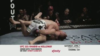 UFC 223 TV Spot, 'XFINITY: Khabib vs. Holloway' - Thumbnail 4