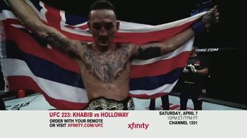 UFC 223 TV Spot, 'XFINITY: Khabib vs. Holloway' - Thumbnail 5