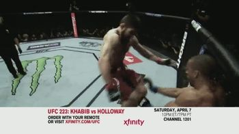UFC 223 TV Spot, 'XFINITY: Khabib vs. Holloway' - Thumbnail 7