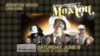 AXS.com TV Spot, 'Me & You 50th Anniversary Tour: Verizon Theatre' - Thumbnail 5