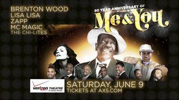 AXS.com TV Spot, 'Me & You 50th Anniversary Tour: Verizon Theatre' - Thumbnail 6