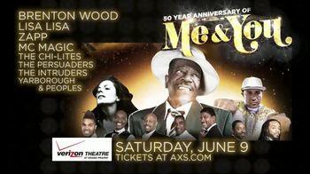 AXS.com TV Spot, 'Me & You 50th Anniversary Tour: Verizon Theatre' - Thumbnail 8