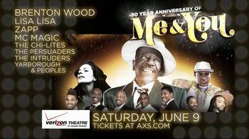 AXS.com TV Spot, 'Me & You 50th Anniversary Tour: Verizon Theatre' - Thumbnail 9