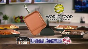 Gotham Steel Side Pocket Pan TV Spot, 'Make Two Things at Once' - Thumbnail 2