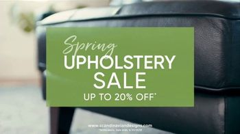 Scandinavian Designs Spring Upholstery Sale TV Spot, 'Freshen Up Your Home' - Thumbnail 3