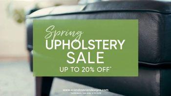 Scandinavian Designs Spring Upholstery Sale TV Spot, 'Freshen Up Your Home'