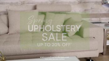 Scandinavian Designs Spring Upholstery Sale TV Spot, 'Freshen Up Your Home' - Thumbnail 4