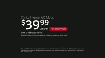 XFINITY Internet TV Spot, 'Not Just Any Internet: More Download Speed' - Thumbnail 8