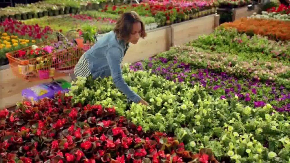 the home depot spring black friday tv commercial mulch garden soil ispottv - Garden Soil Home Depot