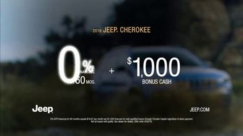 2019 Jeep Cherokee TV Spot, 'Dial' Song by The Score [T2] - Thumbnail 9