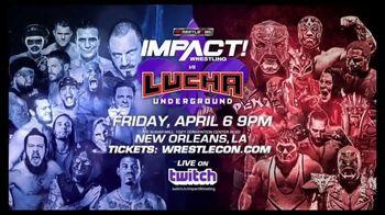 WrestleCon TV Spot, 'Impact Wrestling vs. Lucha Underground' - Thumbnail 5