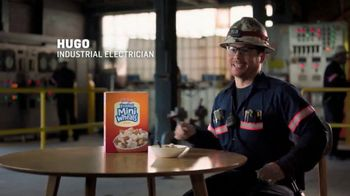 Frosted Mini-Wheats TV Spot, 'Big Food for Hugo's Big Day'