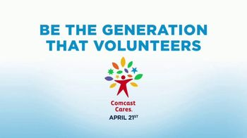 Comcast Corporation TV Spot, 'Comcast Cares Day' - 20 commercial airings