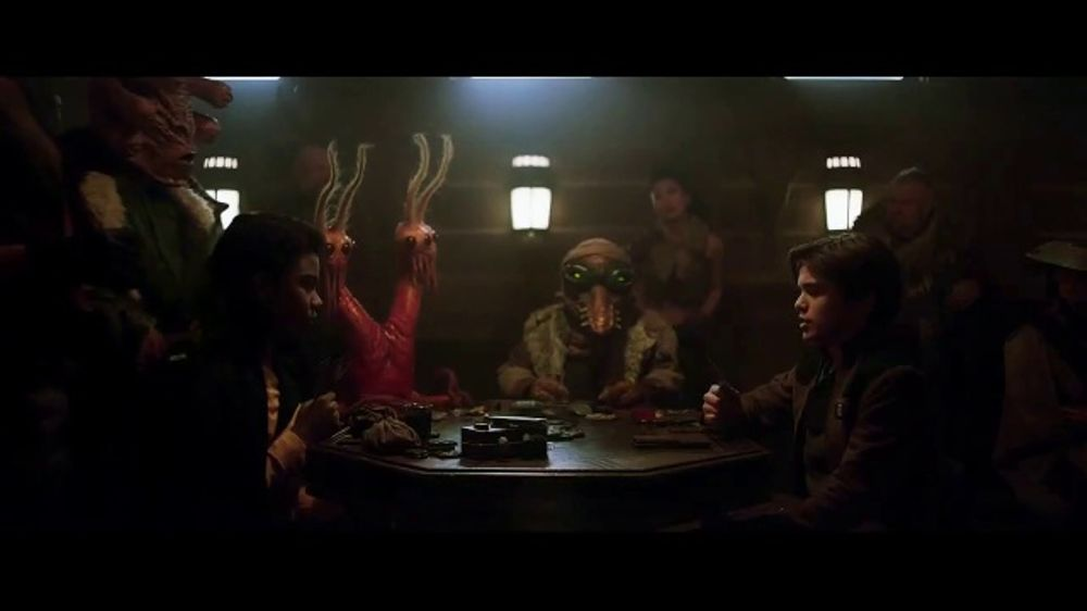 Denny's TV Commercial, 'Solo: A Star Wars Story: Exclusive Trading Cards'