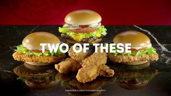 Wendy's 2 for $6 TV Spot, 'Capslock'