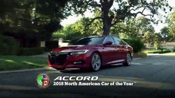 Honda Dream Garage Spring Event TV Spot, 'Best Car: 2018 Accord' [T1] - Thumbnail 1