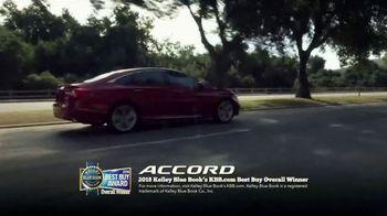 Honda Dream Garage Spring Event TV Spot, 'Best Car: 2018 Accord' [T1] - Thumbnail 3