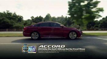 Honda Dream Garage Spring Event TV Spot, 'Best Car: 2018 Accord' [T1] - Thumbnail 4