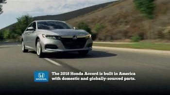 Honda Dream Garage Spring Event TV Spot, 'Best Car: 2018 Accord' [T1] - Thumbnail 6
