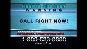 Knightline Legal TV Spot, 'Physiomesh' - Thumbnail 9