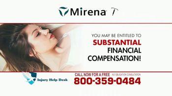 Injury Help Desk TV Spot, 'Attention Women: Mirena'