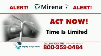 Injury Help Desk TV Spot, 'Attention Women: Mirena' - Thumbnail 6