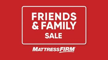 Mattress Firm Friends & Family Sale TV Spot, 'Like Family: No Interest' - Thumbnail 3