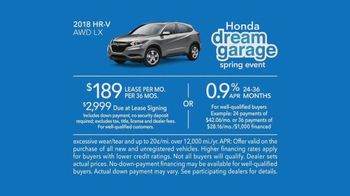 Honda Dream Garage Spring Event TV Spot, 'Garage Cleaning: 2018 HR-V' [T2] - Thumbnail 9