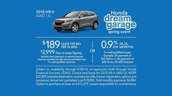 Honda Dream Garage Spring Event TV Spot, 'Garage Cleaning: 2018 HR-V' [T2] - Thumbnail 8