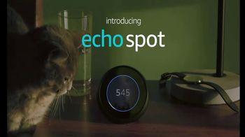 Amazon Echo Spot TV Spot, 'Alexa Moments: Kitty Clock' - Thumbnail 9