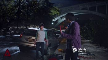 Liberty Mutual 24-Hour Roadside Assistance TV Spot, 'Middle of the Night' - Thumbnail 8