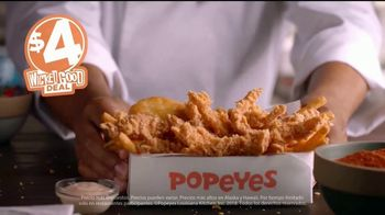 Popeyes $4 Wicked Good Deal TV Spot, 'Baile musical' [Spanish] - Thumbnail 9