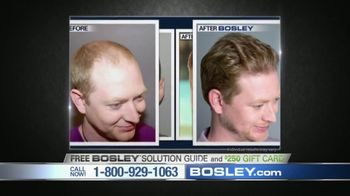 Bosley TV Spot, 'Today's Bosley: Gerald' - Thumbnail 9