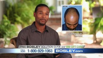 Bosley TV Spot, 'Today's Bosley: Gerald' - 103 commercial airings