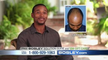 Bosley TV Spot, 'Today's Bosley: Gerald' - Thumbnail 7