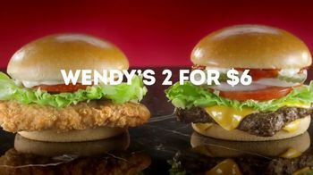 Wendy's 2 for $6 TV Spot, 'Yes or YASSSS' - Thumbnail 3