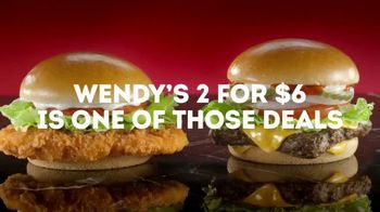 Wendy's 2 for $6 TV Spot, 'Yes or YASSSS' - Thumbnail 4