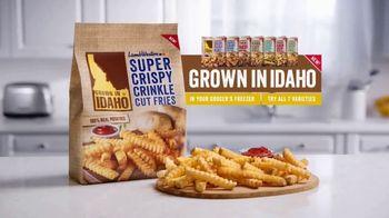 Lamb Weston Grown in Idaho Super Crispy Crinkle Cut Fries TV Spot, 'Crispy and Tender' - Thumbnail 7