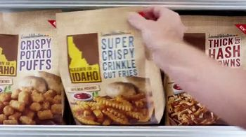 Idaho Potato Super Crispy Crinkle Cut Fries TV Spot, 'Crispy and Tender'