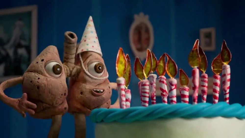 The Real Cost TV Commercial, 'Little Lungs in a Great Big World: Birthday'