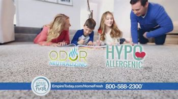 Empire Today Home Fresh Carpet TV Spot, 'Odor-Neutralizing Carpet' - Thumbnail 3