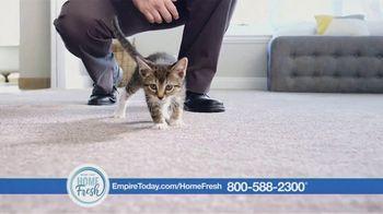 Empire Today Home Fresh Carpet TV Spot, 'Odor-Neutralizing Carpet' - Thumbnail 4