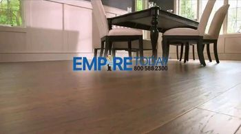 Empire Today 75 Percent Off Sale TV Spot, 'Save Big on New Floors' - Thumbnail 1