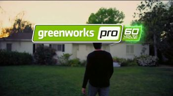 GreenWorks Pro 60V 16-Inch String Trimmer TV Spot, 'Beyond Ordinary' - Thumbnail 7