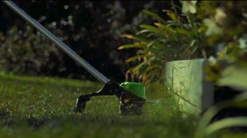 GreenWorks Pro 60V 16-Inch String Trimmer TV Spot, 'Beyond Ordinary' - Thumbnail 3