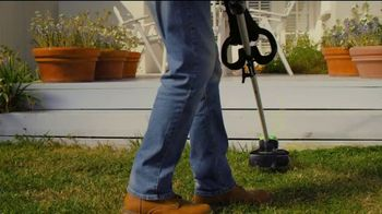 GreenWorks Pro 60V 16-Inch String Trimmer TV Spot, 'Beyond Ordinary'